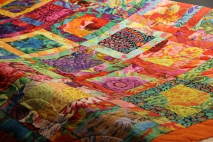 Susan's quilt front